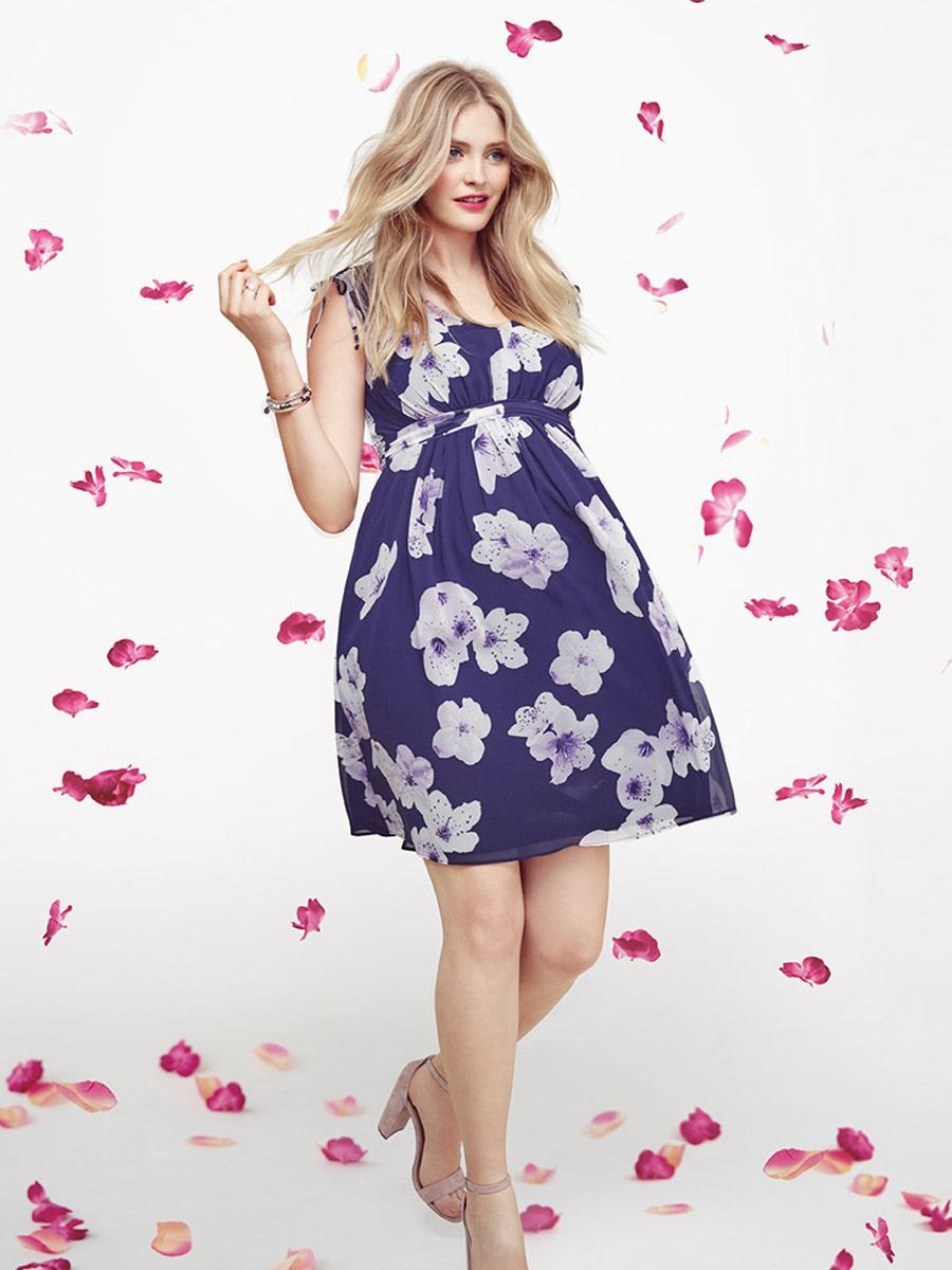d1a14fc546620 Stork & Babe - Sleeveless Floral Maternity Dress | dreaming about ...