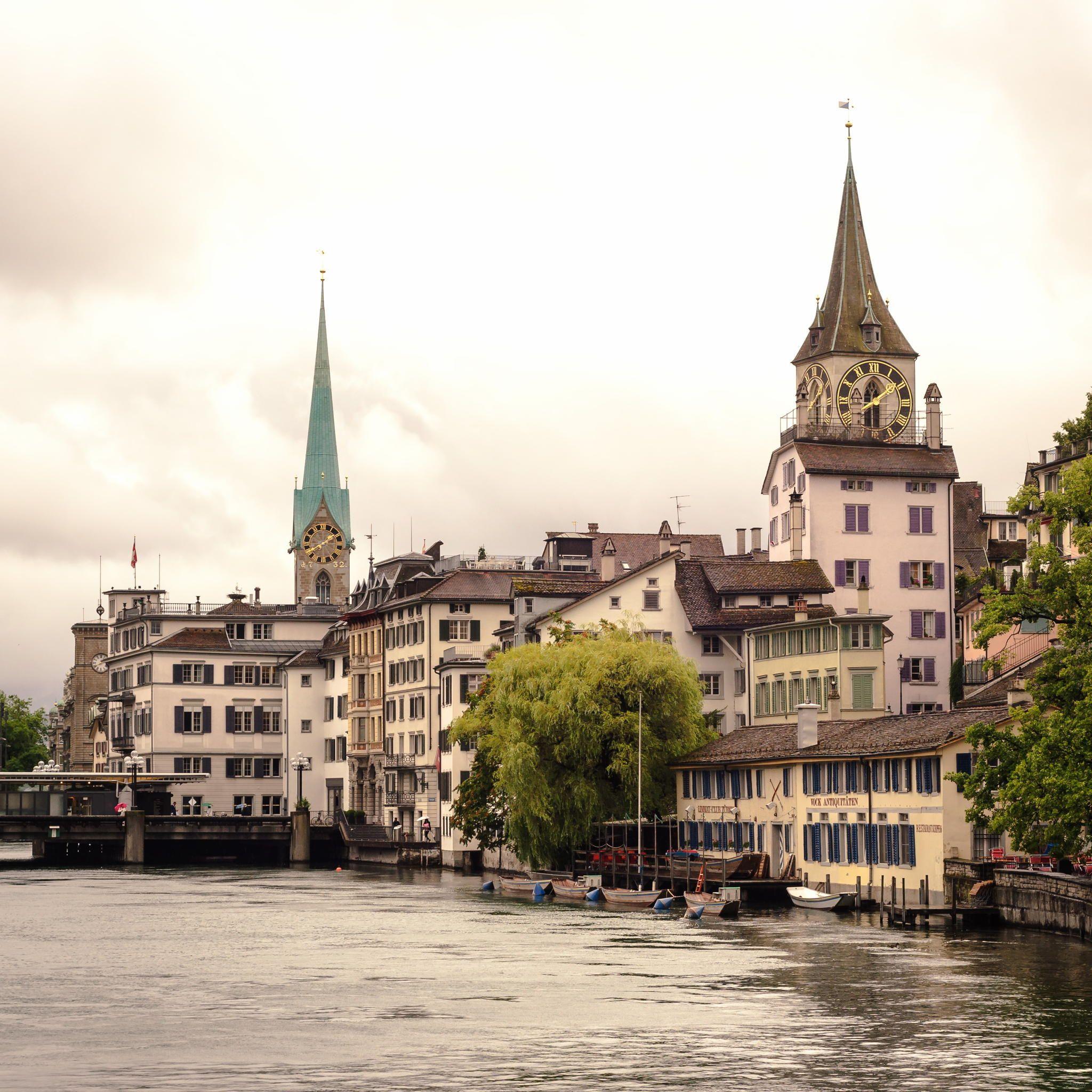Zurich by Anton Vlasov on 500px