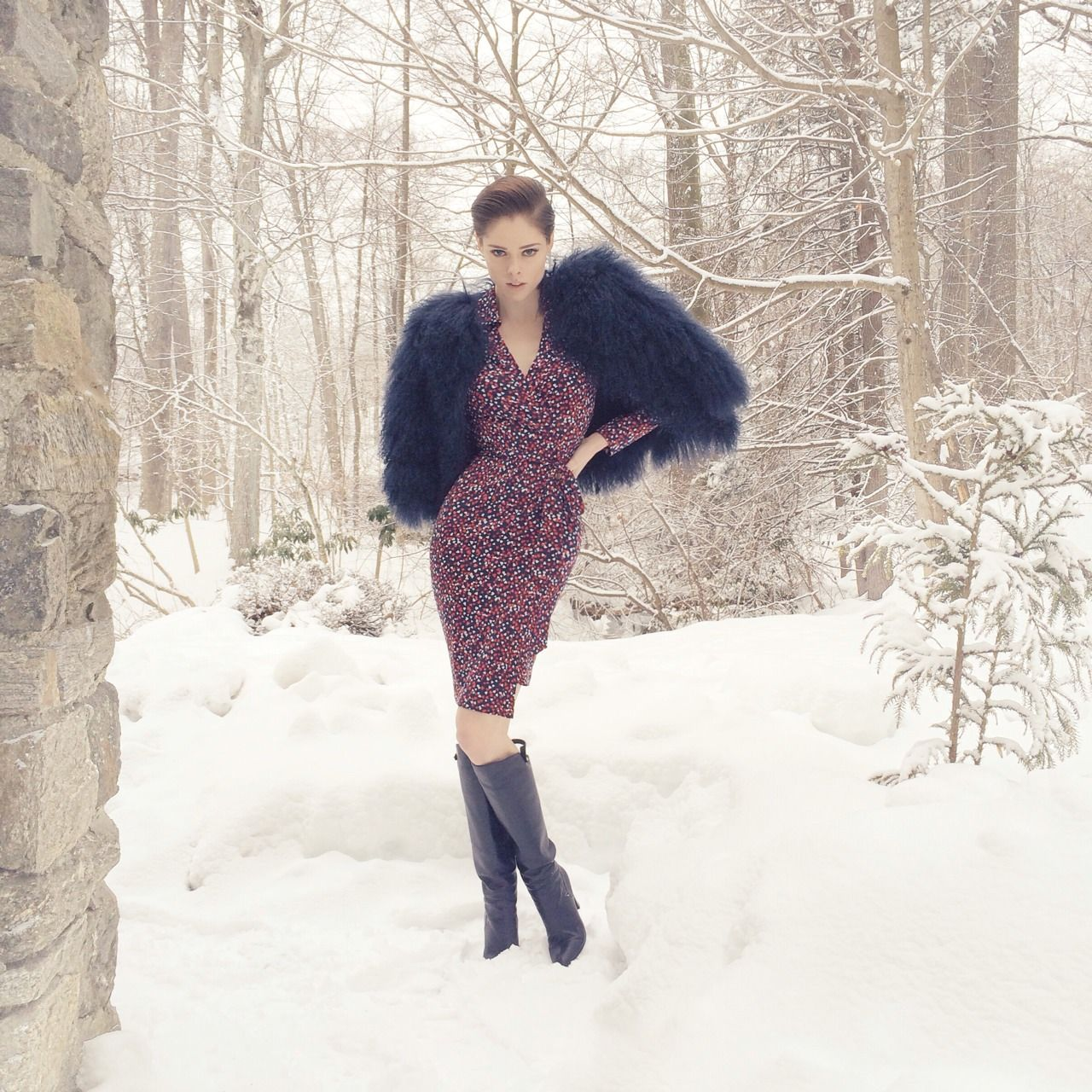 #SoDVF wrapdress on #CocoRocha http://oh-so-coco.tumblr.com/post/77078863623/just-landed-back-in-new-york-where-my-dvf