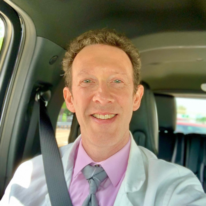 Dr scheiner is being driven to orlando to help teach a