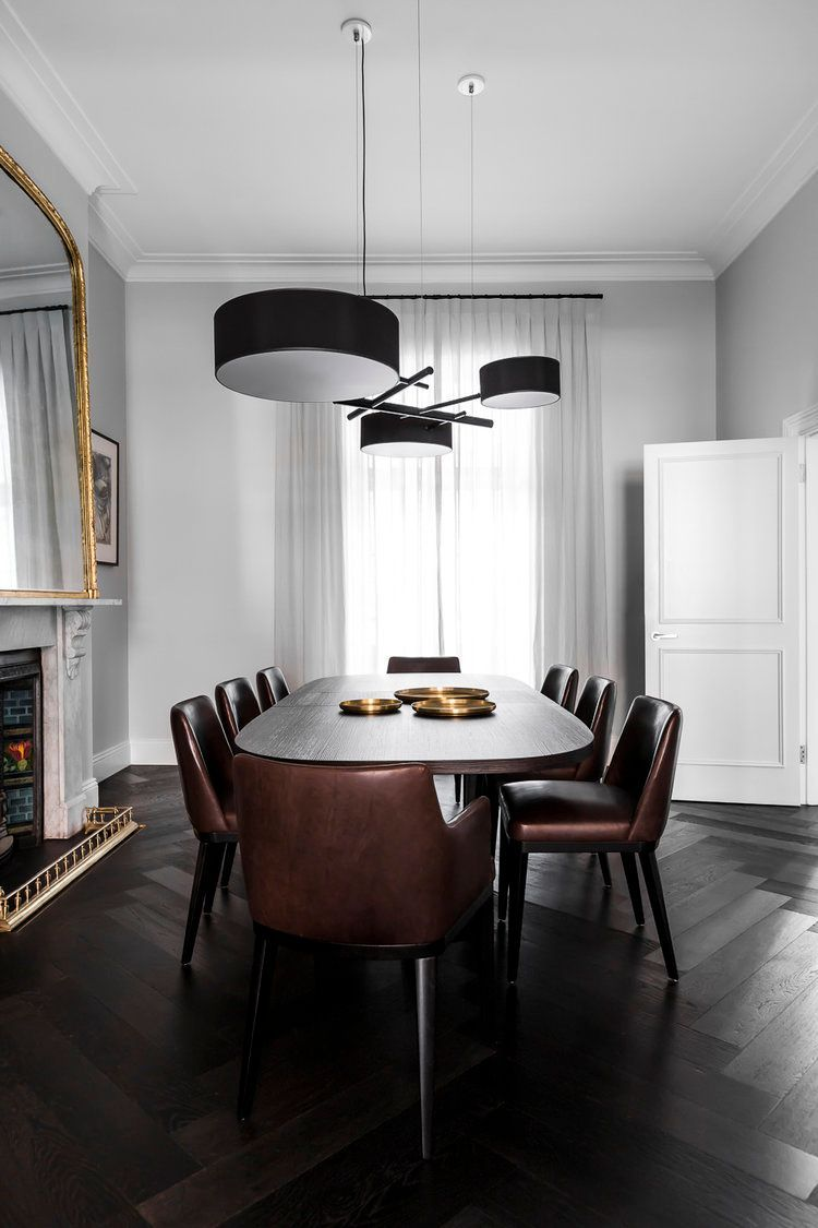 Excel Chandelier Black — Private Residence Sydney Australia Fascinating Private Room Dining Sydney Review