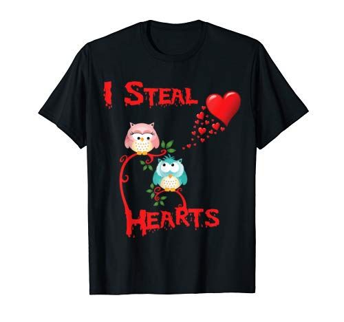 Photo of Valentines Day Shirt Cute Owl I Steal Hearts Tshirt Gifts……