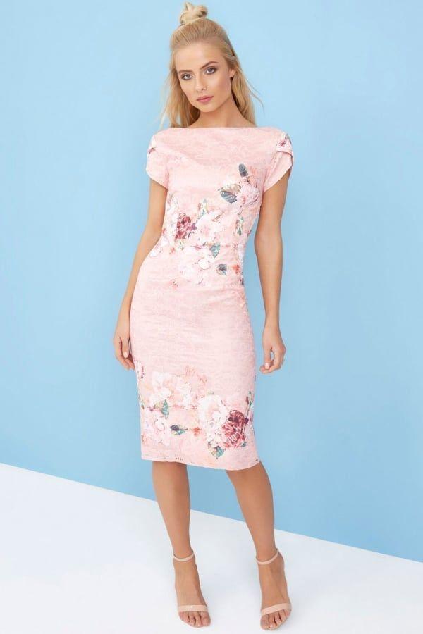 Little Mistress Floral Lace Bodycon Dress - Little Mistress from Little  Mistress UK