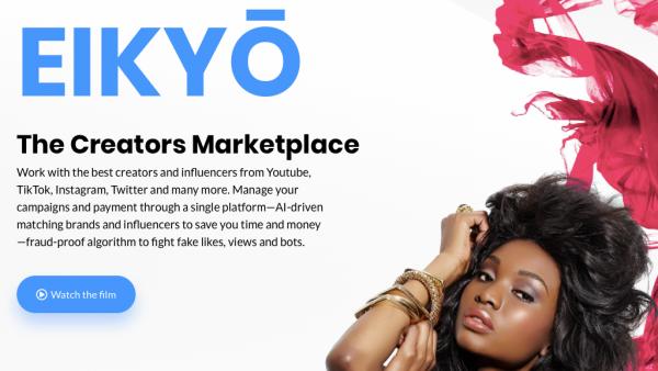 Eikyo The Influencer Platform For Nano And Micro Creators Business Content Algorithm The Creator