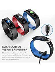 Winisok Fitness Armband mit Blutdruckmessung Pulsmesser Fitness Tracker Uhr Wasserdicht IP67 Schritt...