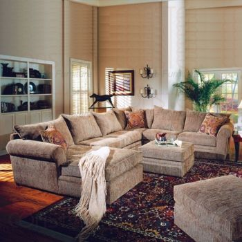Oversized Sectional In Chenille This Looks Like The Couch We Had
