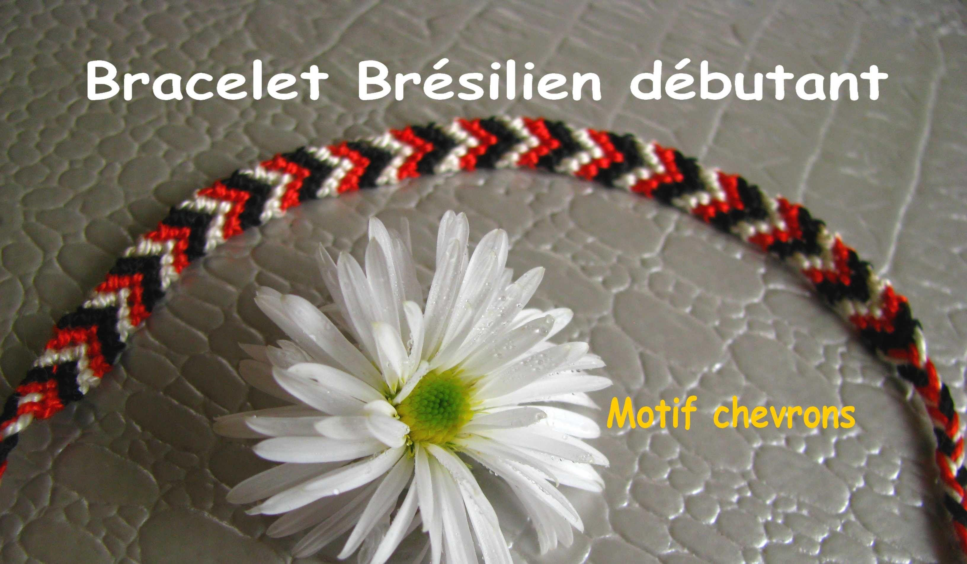 tuto comment faire un bracelet br silien facile en v d butant macram bracelet br silien. Black Bedroom Furniture Sets. Home Design Ideas