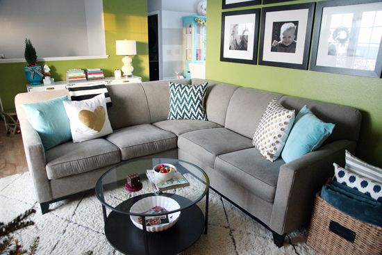 Love This Sofa Rowe Martin 3 Piece Sectional By Iheart Organizing Our Story