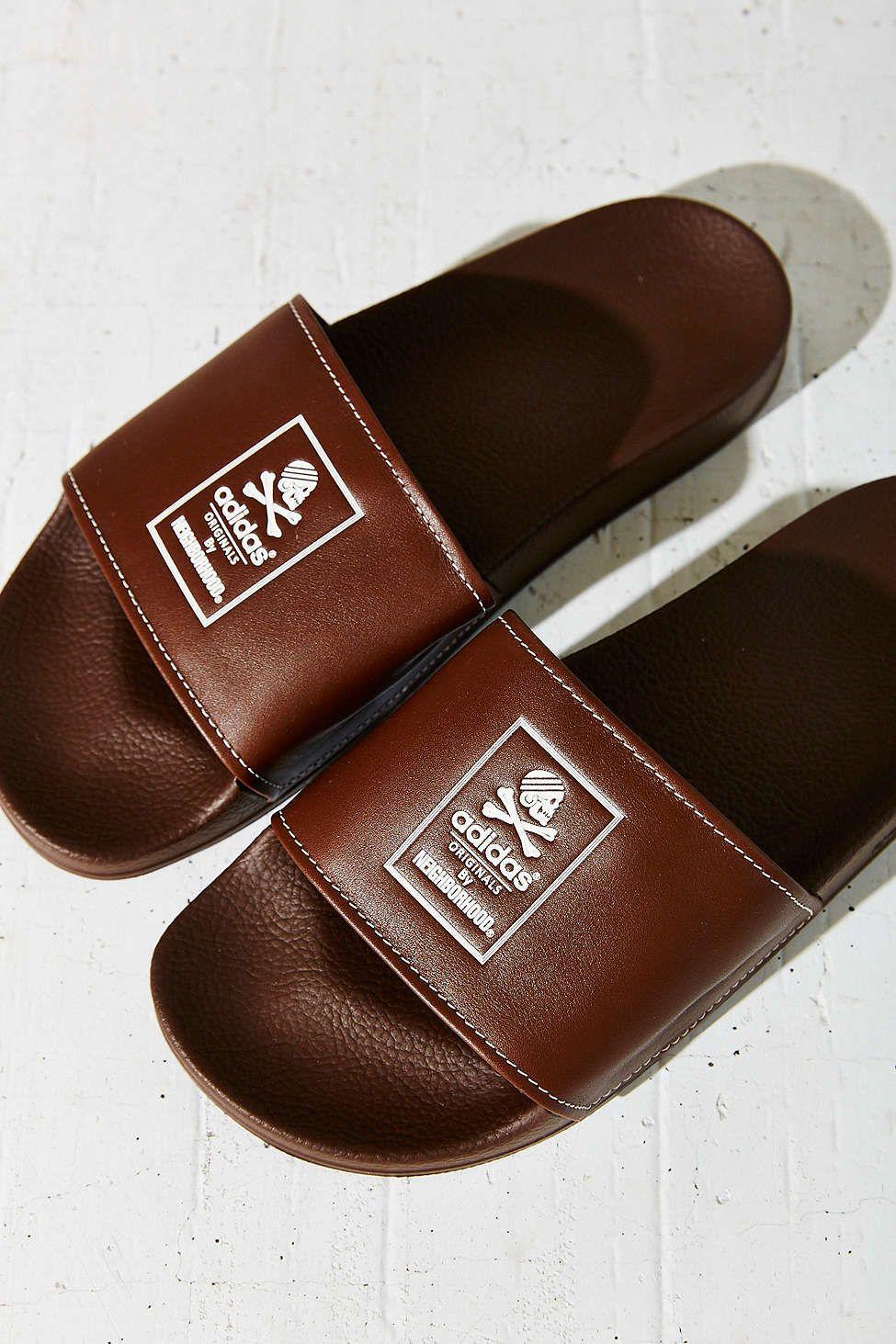 adidas originals adilette brown