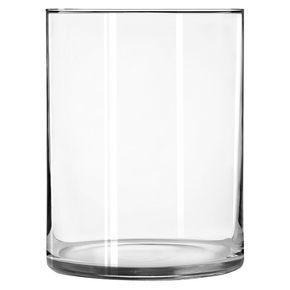"""Wide Cylinder Vase (8"""") Libbey"""