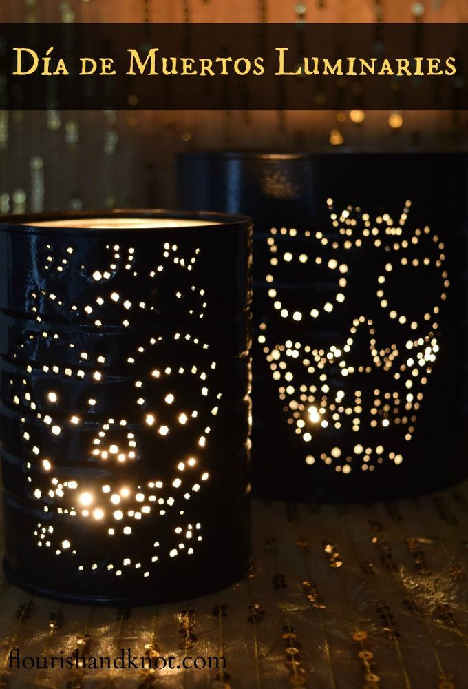 Dia De Muertos Luminaries Pinterest Decoration, Halloween ideas - create halloween decorations