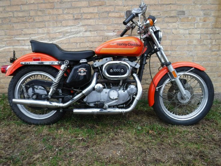 1976 HarleyDavidson Sportster XLCR Classics Motorcycle