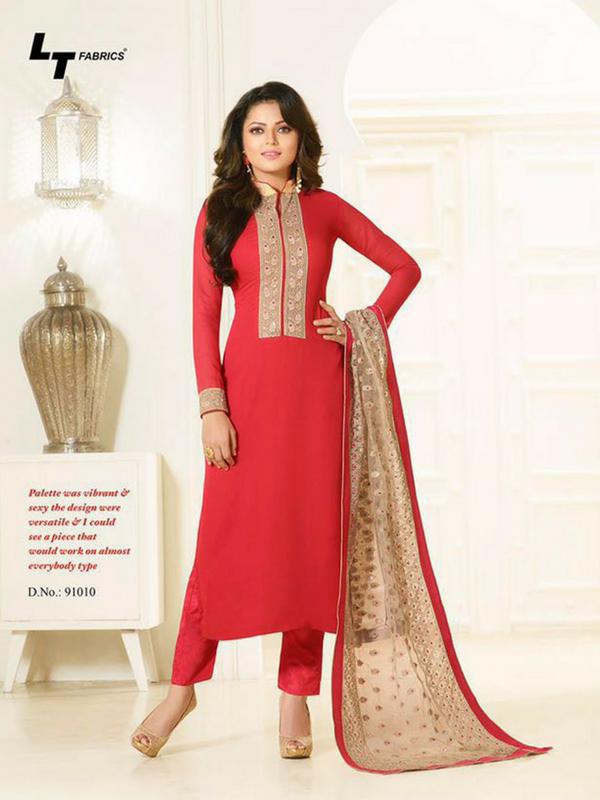 9fbc6cb77e Crimson Red Madhubala Salwar Suit Online Shop Now - | fashion ...