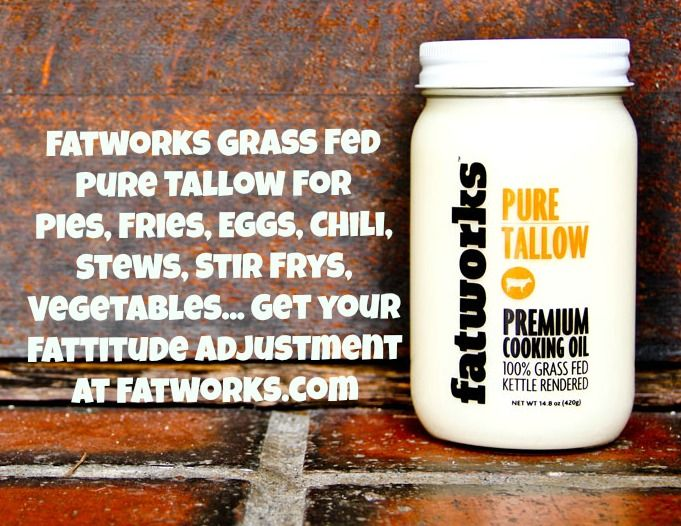 Premium Grass Fed Tallow At Www Fatworks Com Fatworks Tallow Paleo Primal Gourmet Grass Fed Beef Tallow Beef Tallow
