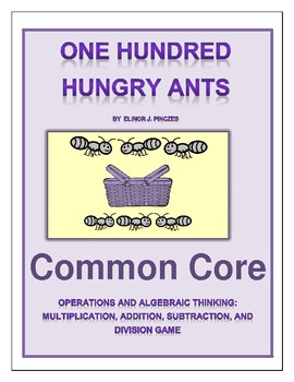 One Hundred Hungry Ants - Game