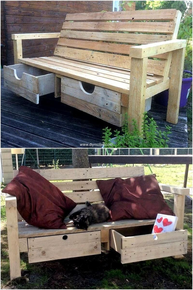 Some Great Ideas Of Wood Pallets Recycling Wood Pallet Recycling Wood Pallets Wood Pallet Couch