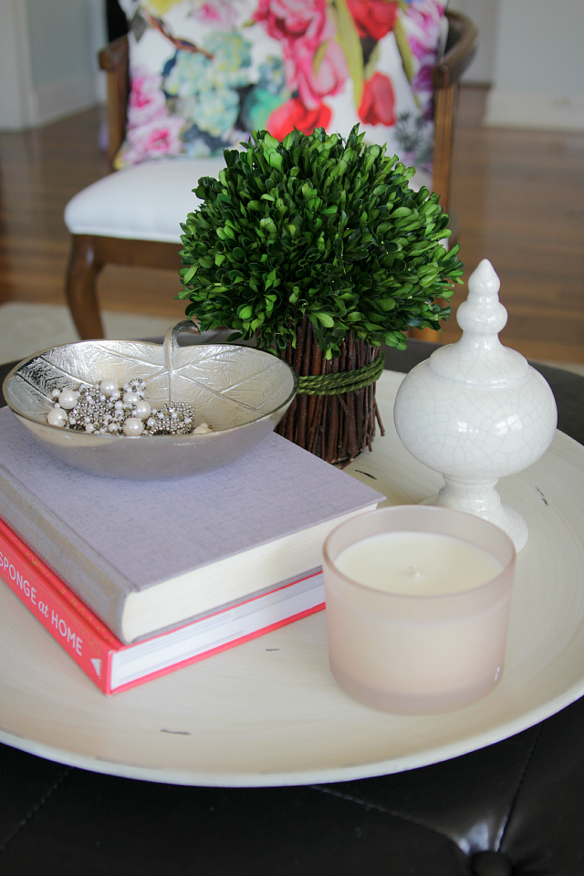How To Style A Round Coffee Table Round Coffee Table Decor