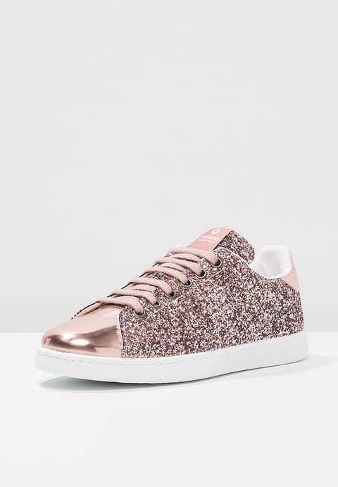 Victoria Shoes DEPORTIVO BASKET GLITTER - Trainers - rosa il0iilGQ6