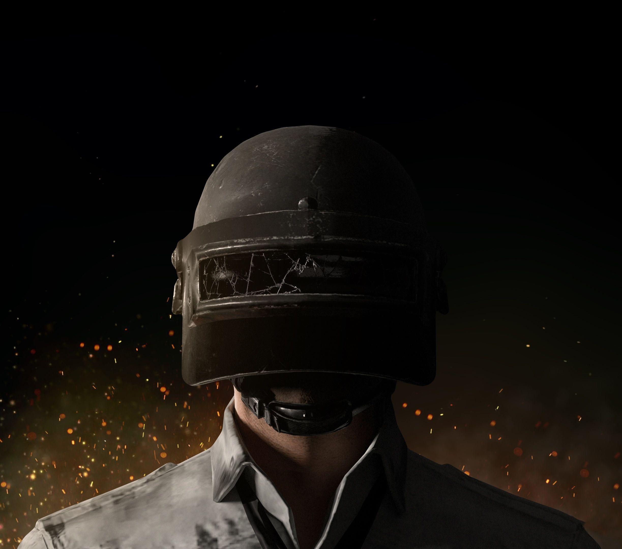 Downaload Pubg Helmet Guy Close Up Wallpaper 2446x2160 Pubg Helmet 4k Wallpaper For Mobile Up Wallpaper