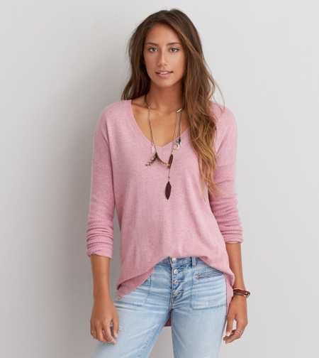 AEO V-Neck Pullover Sweater - Buy One Get One 50% Off | Preppy ...