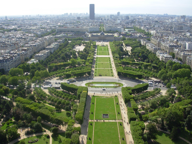 Campos el seos par s francia destinos con estilo for Jardines eliseos