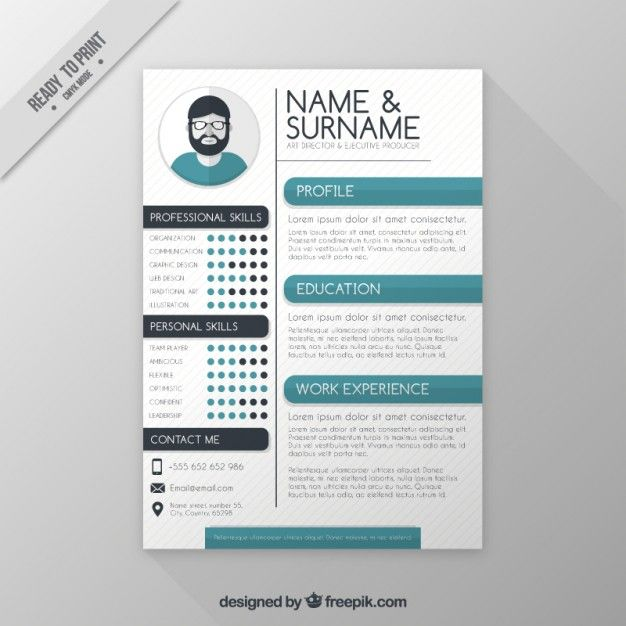 Template Diretor Currculo Art  Template Art Director And Resume