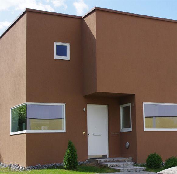 Braune fassade fassade pinterest fassaden braun und for Hausfassade braun