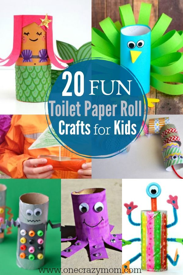 Get Creative And Use What You Already Have At Home Make These Toilet Paper Crafts