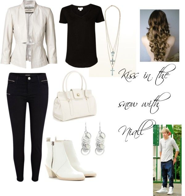 """Kiss in the snow with Niall"" by beccaloveswmyb ❤ liked on Polyvore"