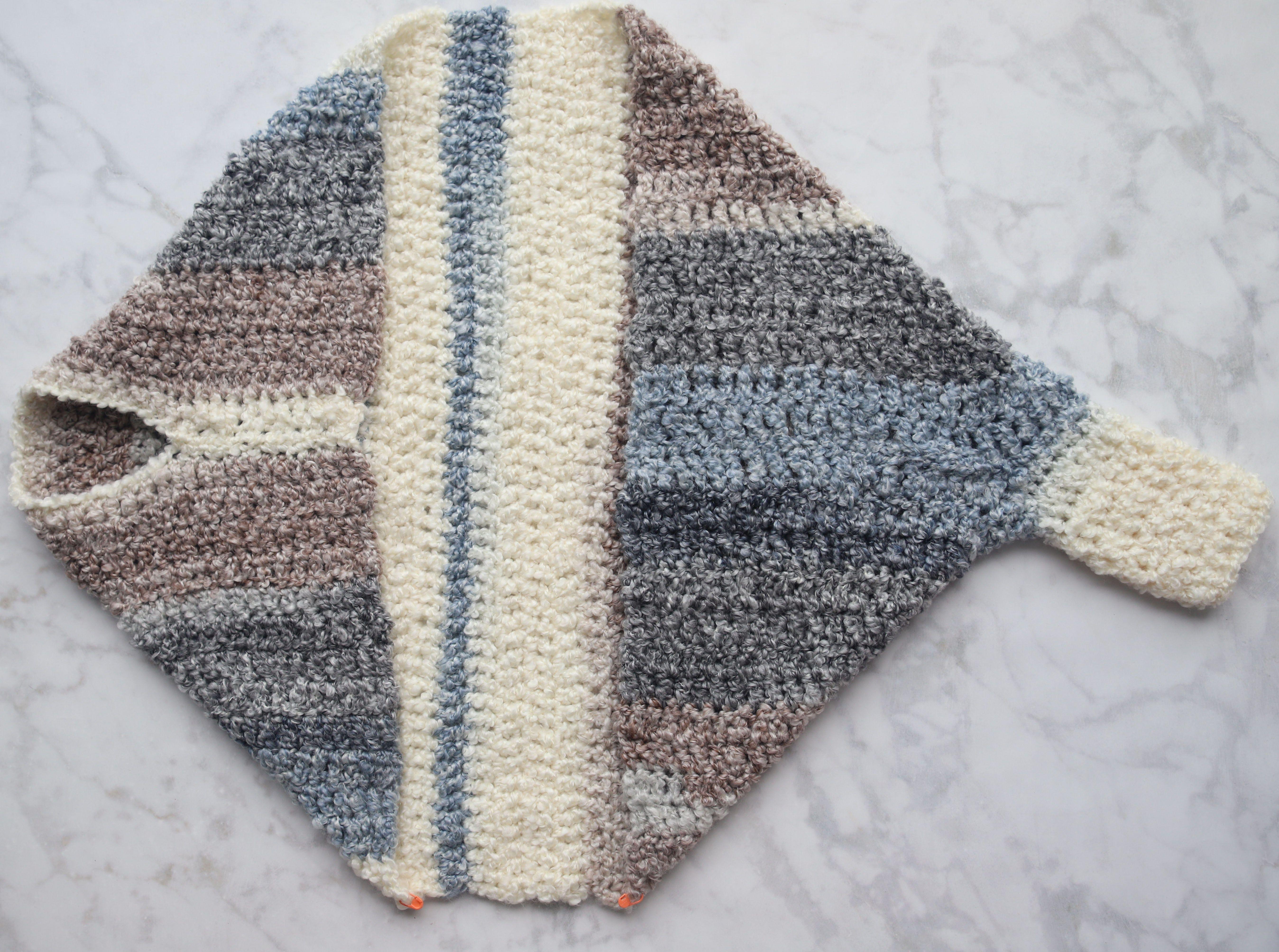 Crochet Cuddler Cocoon Sweater