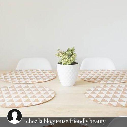 lot de deux sets de table en lige signs bloomingville inspiration scandinave pour ces sets de tables rond raliss en lige couleur naturel - Set De Table Scandinave