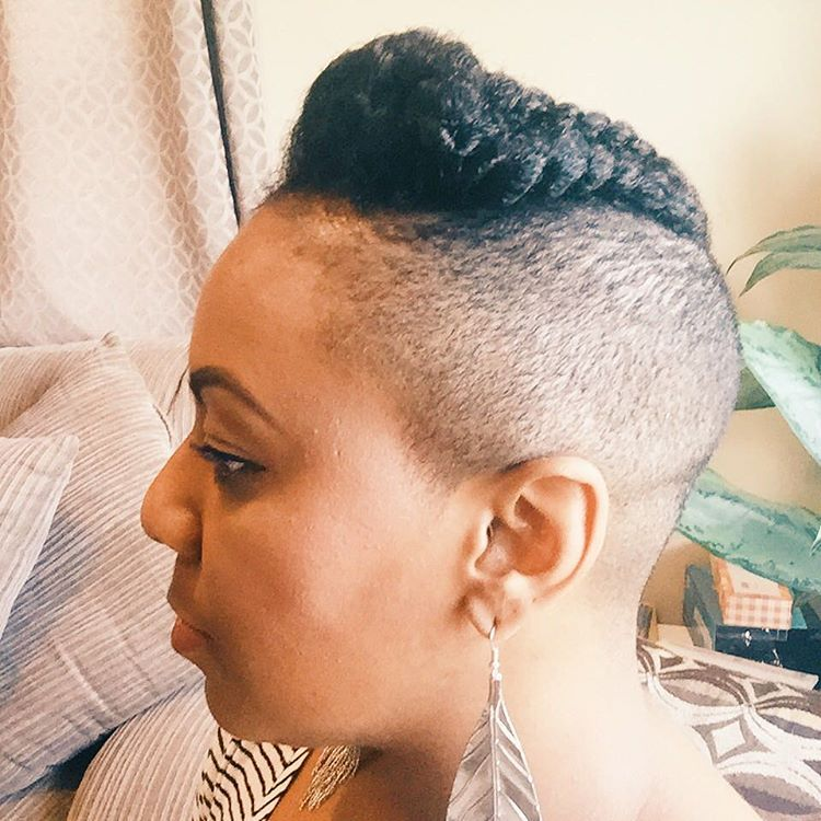 Four Tips for Those Considering an Undercut Natural Hairstyle | Natural hair styles, Hair styles ...