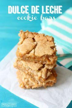 Dulce de Leche Cookie Bars!