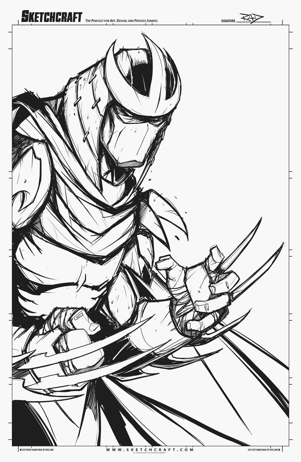 Sketches Midnight 023 By Robduenasviantart On
