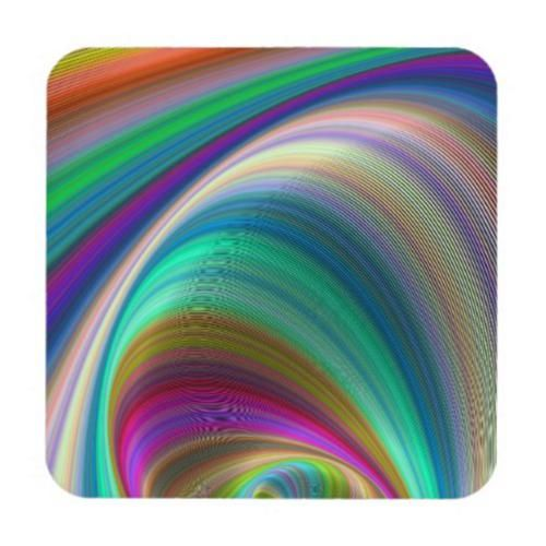 Colorful Dream Beverage Coaster $29.80 *** colorful - dream - imagination - fractal - hypnosis - digital abstract - digital - abstract - vortex - strom - space - ellipse - coaster