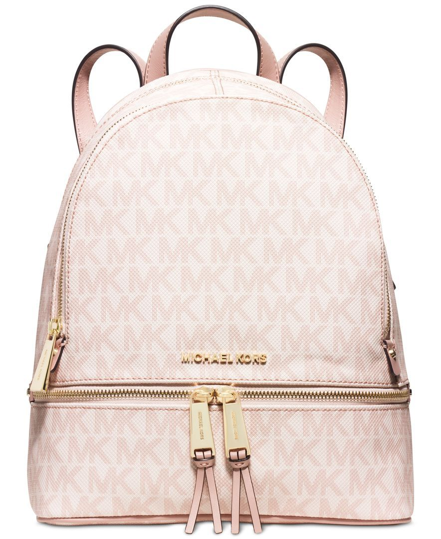 29e114dd44 MICHAEL Michael Kors Rhea Small Backpack - Backpacks - Handbags    Accessories - Macy s