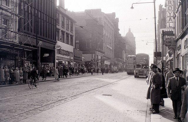 Sauchiehall Street Glasgow 19 April 1960 Glasgow Glasgow