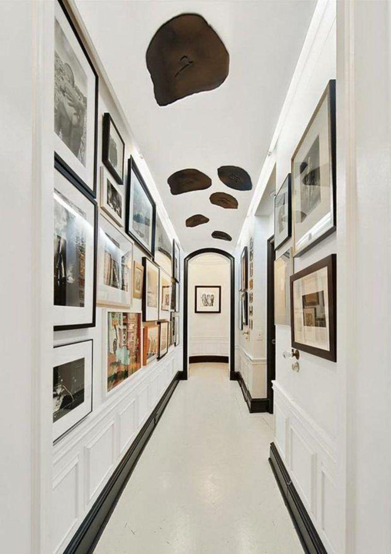 déco-couloir-tableaux-art | Nice Deco!! | Pinterest | Couloir ...