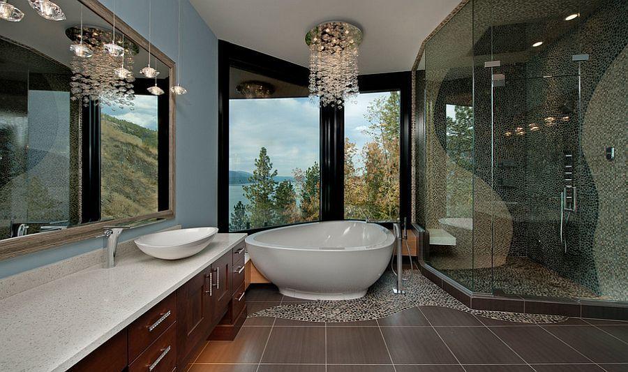 Pin On Bathroom Interior Design, Bathroom Chandelier Lighting