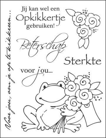 Kleurplaten Voor Opa Beterschap.Ec0114 Opkikkertjes Awesome Art Stuff Ideas Prima Doll Stamps