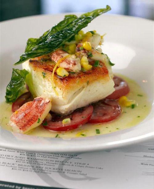 Sea Bass Lobster Scampi Sea Bass Gourmet Food