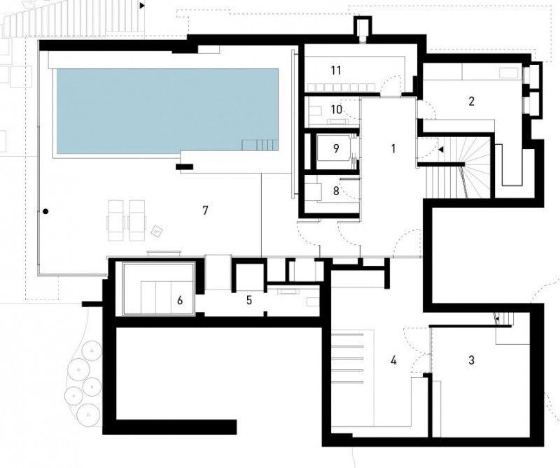SU House by Alexander Brenner Architekten House, Modern house - fresh define blueprint design