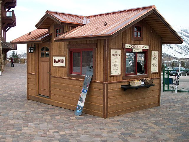 Custom Concession Stand 10x16 By Tuff Shed Storage