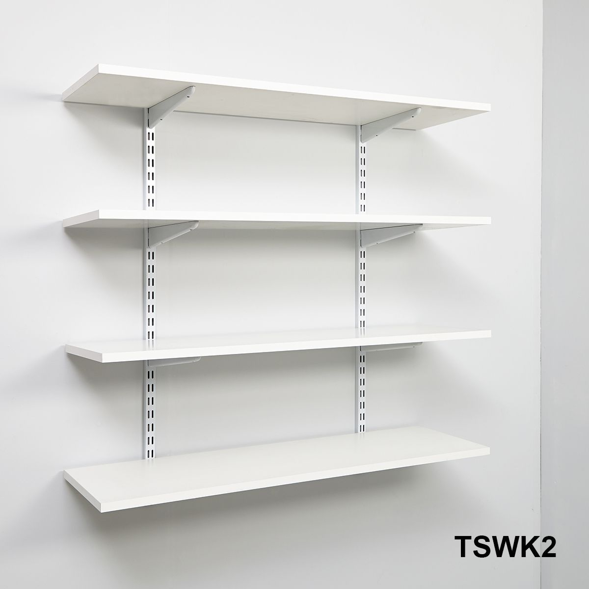 Wall Mounted Adjustable Shelf Brackets White Wall Mounted