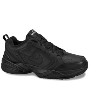 61aeeff2dc7f Nike Men s Air Monarch Iv Wide Training Sneakers from Finish Line - Black  11.5W