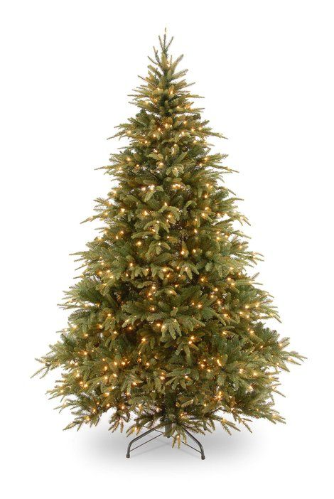 9ft Pre-lit Weeping Spruce Artificial Christmas Tree This is the