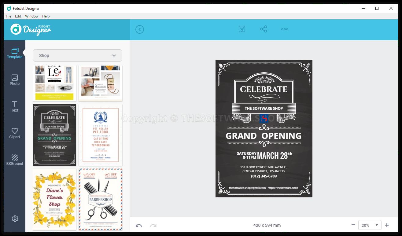 FotoJet Designer (PC) Review & Free Activation Key