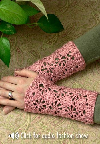 Free Crochet Patterns from Naturally Caron | Free pattern, Wristlets ...
