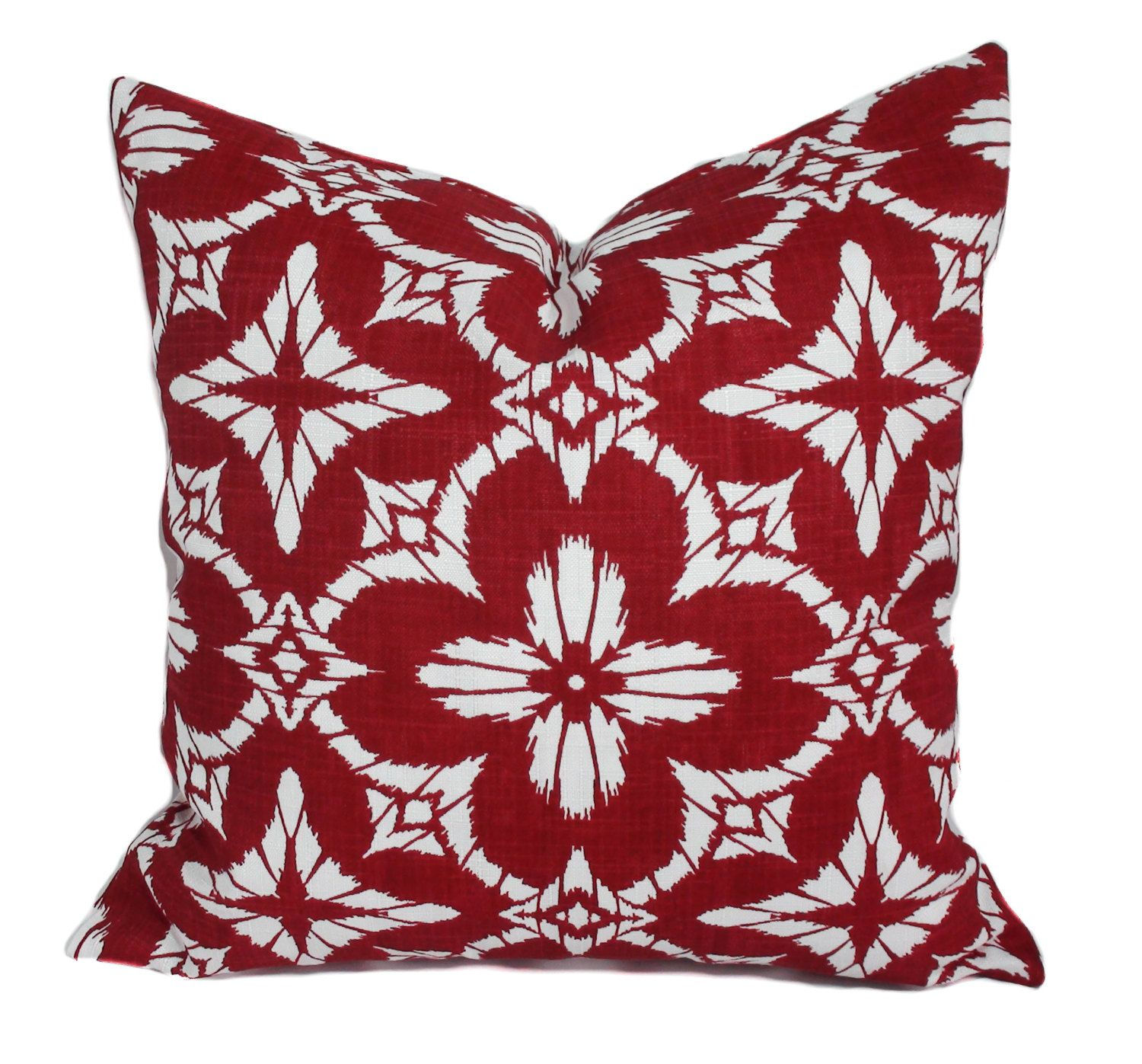 Outdoor Christmas pillow cover, 15x15, Outdoor holiday pillows ...