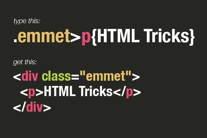 Time saving tips for the emmet plugin (formerly known as Zen Coding).